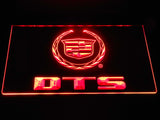 Cadillac DTS LED Neon Sign USB - Red - TheLedHeroes