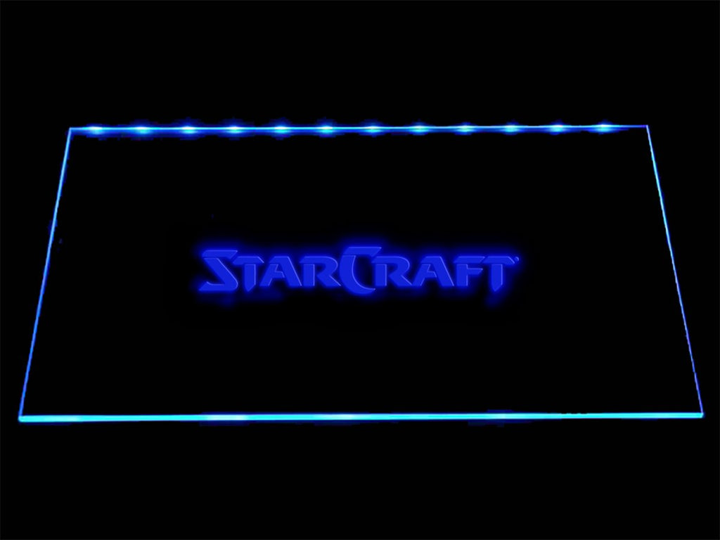 Starcraft LED Neon Sign USB - Blue - TheLedHeroes