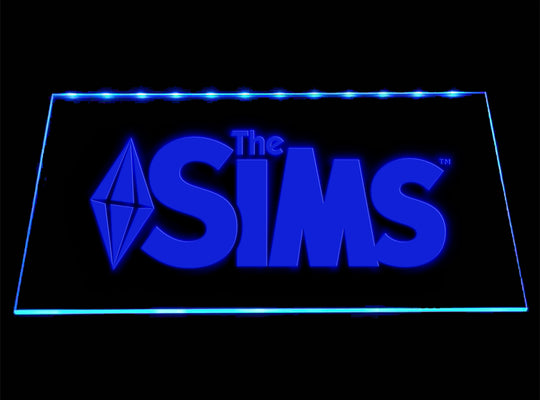 The Sims LED Sign - Blue - TheLedHeroes