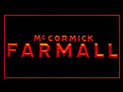 FREE McCormick Farmall LED Sign - Orange - TheLedHeroes