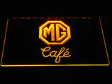 FREE MG Morris Garage Café LED Sign - Yellow - TheLedHeroes