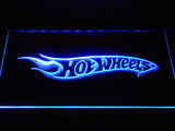 FREE Hot Wheels LED Sign - Blue - TheLedHeroes