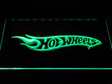 FREE Hot Wheels LED Sign - Green - TheLedHeroes