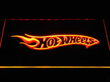 FREE Hot Wheels LED Sign - Orange - TheLedHeroes