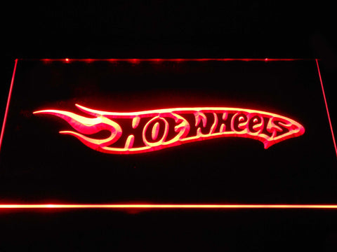 Hot Wheels LED Neon Sign USB - Red - TheLedHeroes