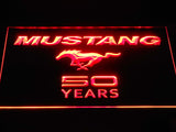 Mustang 50 LED Neon Sign USB - Red - TheLedHeroes