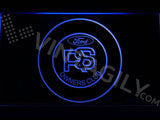 Ford RS Owners Club LED Neon Sign Electrical - Blue - TheLedHeroes