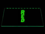 FREE Red LED Sign - Green - TheLedHeroes