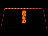 FREE Red LED Sign - Orange - TheLedHeroes