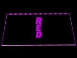 FREE Red LED Sign - Purple - TheLedHeroes