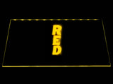 FREE Red LED Sign - Yellow - TheLedHeroes