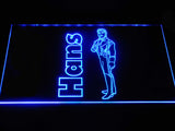 Hans LED Neon Sign USB - Blue - TheLedHeroes
