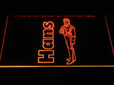 Hans LED Neon Sign USB - Orange - TheLedHeroes
