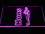 Hans LED Neon Sign USB - Purple - TheLedHeroes