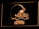 Cleveland Browns LED Neon Sign USB - Orange - TheLedHeroes