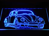 FREE Volkswagen Beetle LED Sign - Blue - TheLedHeroes