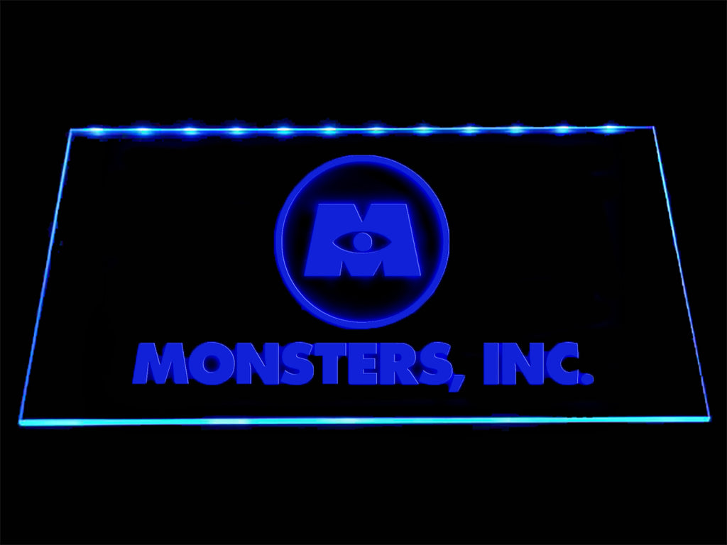 FREE Monsters, INC. LED Sign - Blue - TheLedHeroes