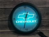 Chevrolet (2) LED Wall Clock - Multicolor - TheLedHeroes