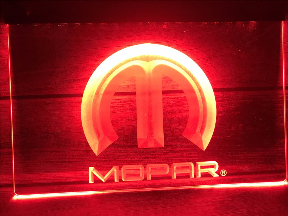 FREE Mopar LED Sign - Red - TheLedHeroes