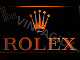 Rolex LED Neon Sign USB - Orange - TheLedHeroes