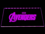 The Avengers (2) LED Neon Sign USB - Purple - TheLedHeroes
