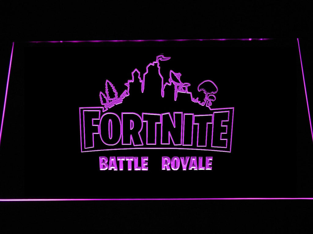 Fortnite Battle Royale Led Neon Sign Usb The Perfect Gift For Your Room Or Cave