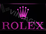 Rolex LED Neon Sign USB - Purple - TheLedHeroes