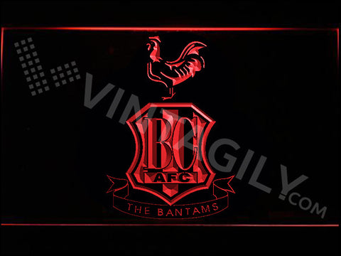 Bradford City AFC LED Sign - Red - TheLedHeroes