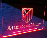 FREE Atlético Madrid LED Sign - Red - TheLedHeroes