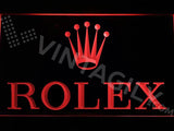 Rolex LED Neon Sign USB - Red - TheLedHeroes