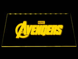The Avengers (2) LED Neon Sign USB - Yellow - TheLedHeroes