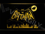 Batman 2 LED Sign - Yellow - TheLedHeroes