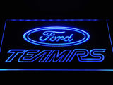 Ford TEAMRS LED Neon Sign Electrical - Blue - TheLedHeroes