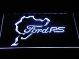 FREE Ford RS LED Sign - White - TheLedHeroes