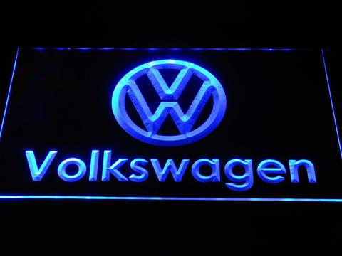 FREE Volkswagen (2) LED Sign - Blue - TheLedHeroes