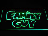Family guy (2) LED Neon Sign USB - Green - TheLedHeroes