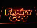 Family guy (2) LED Neon Sign USB - Orange - TheLedHeroes