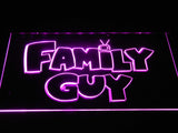 Family guy (2) LED Neon Sign USB - Purple - TheLedHeroes