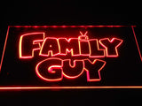 Family guy (2) LED Neon Sign USB - Red - TheLedHeroes