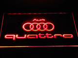 FREE Audi Quattro LED Sign - Red - TheLedHeroes