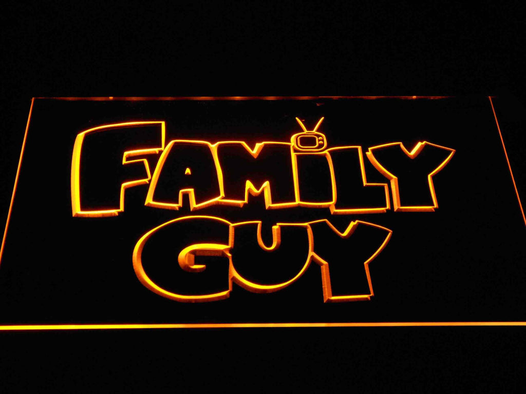Family guy (2) LED Neon Sign USB - Yellow - TheLedHeroes