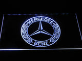 FREE Mercedes Benz LED Sign - White - TheLedHeroes