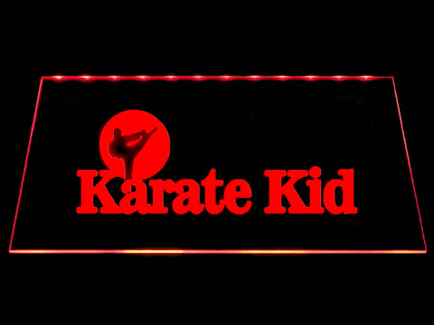 FREE Karate Kid LED Sign - Red - TheLedHeroes