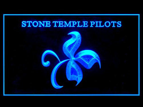 Stone Temple Pilots LED Sign - Blue - TheLedHeroes