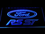 FREE Ford RS ST LED Sign - Blue - TheLedHeroes