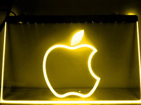 Apple LED Sign - Multicolor - TheLedHeroes