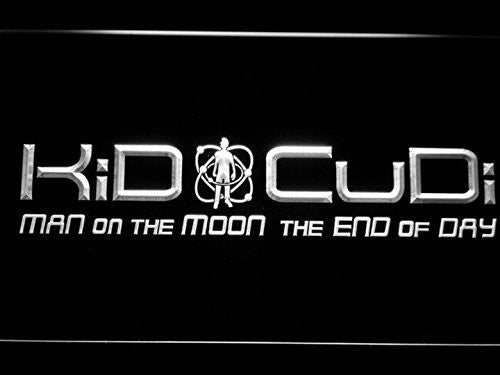 Kid Cudi Man On The Moon End of Day LED Sign -  - TheLedHeroes