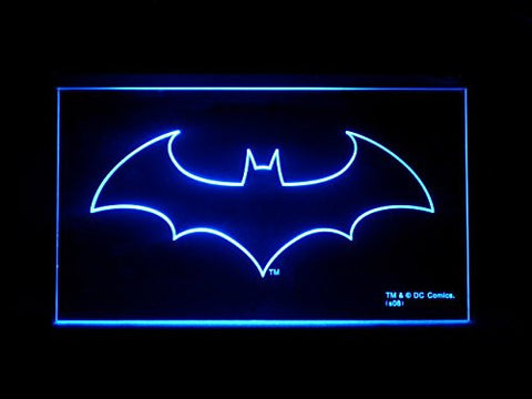 Batman Dark Knight LED Sign - Blue - TheLedHeroes