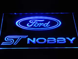 Ford ST Nobby LED Neon Sign Electrical - Blue - TheLedHeroes