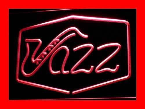 Jazz Bar Music Live Pub Club LED Sign - Red - TheLedHeroes